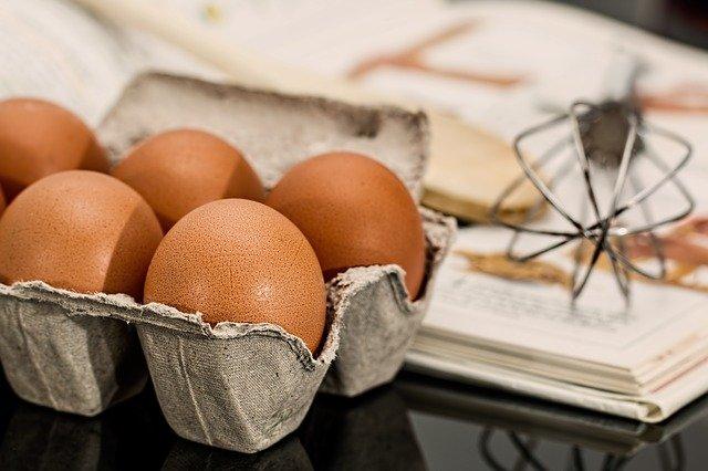 vejce na pečení